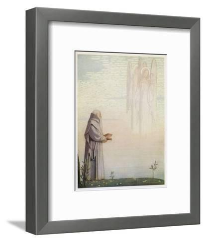 Archbishop of Canterbury Saint-Cayley Robinson-Framed Art Print