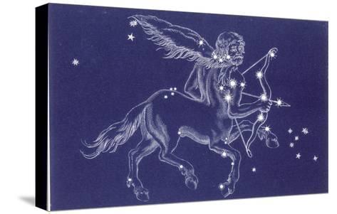 Sagittarius-Roberta Norton-Stretched Canvas Print