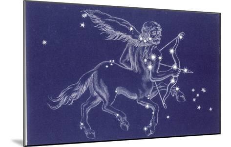 Sagittarius-Roberta Norton-Mounted Giclee Print