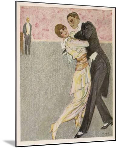 Tango Argentino-Paul Rieth-Mounted Giclee Print