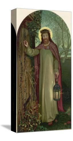 Jesus of Nazareth Religious Leader of Jewish Origin-William Holman Hunt-Stretched Canvas Print