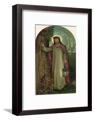 Jesus of Nazareth Religious Leader of Jewish Origin-William Holman Hunt-Framed Art Print