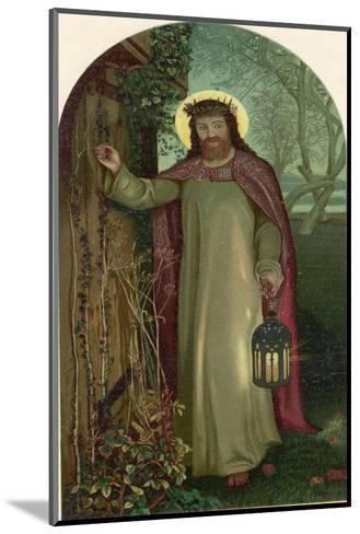 Jesus of Nazareth Religious Leader of Jewish Origin-William Holman Hunt-Mounted Giclee Print