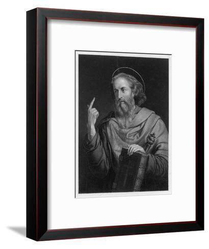 Saint Paul of Tarsus Rabbi Tentmaker Missionary Depicted Preaching--Framed Art Print