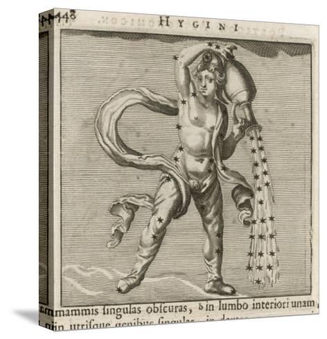 Zodiac-Gaius Julius Hyginus-Stretched Canvas Print