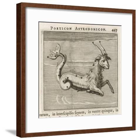 Zodiac-Gaius Julius Hyginus-Framed Art Print
