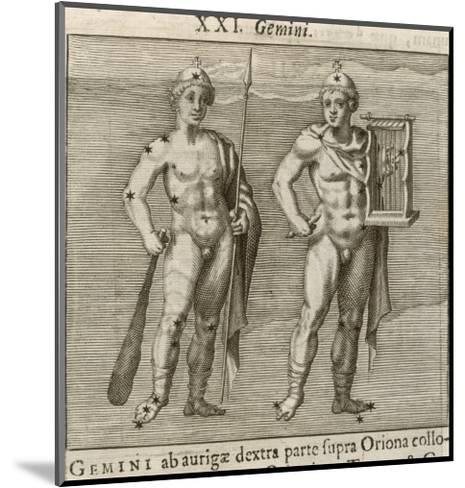 Zodiac-Gaius Julius Hyginus-Mounted Giclee Print