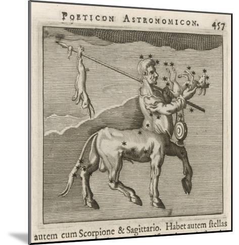 Centaurus Star Figure-Gaius Julius Hyginus-Mounted Giclee Print
