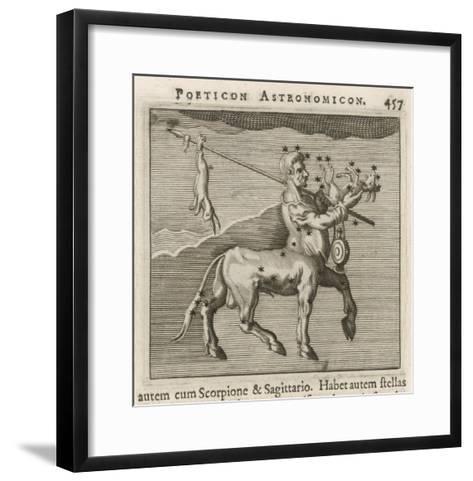 Centaurus Star Figure-Gaius Julius Hyginus-Framed Art Print