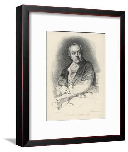 William Blake English Artist Poet and Mystic-Luigi Schiavonetti-Framed Art Print