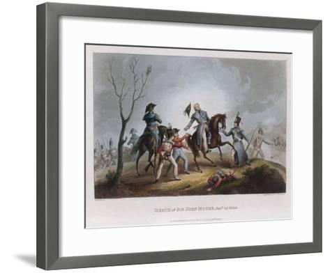 Death of Moore Corunna-W. Heath-Framed Art Print