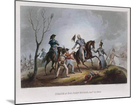 Death of Moore Corunna-W. Heath-Mounted Giclee Print