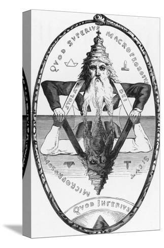 Good is the Mirror of Evil Evil is the Mirror of Good Neither Could Exist Without the Other-Eliphas Levi-Stretched Canvas Print