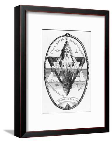 Good is the Mirror of Evil Evil is the Mirror of Good Neither Could Exist Without the Other-Eliphas Levi-Framed Art Print