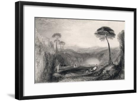 The Golden Bough Discovered by Aeneas was a Focal Point of Roman Belief-T.a. Prior-Framed Art Print