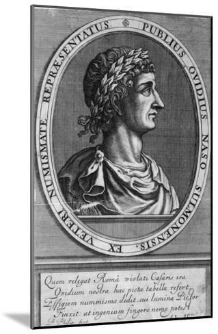 Publius Ovidius Naso Known as Ovid Roman Poet-P. Philips-Mounted Giclee Print