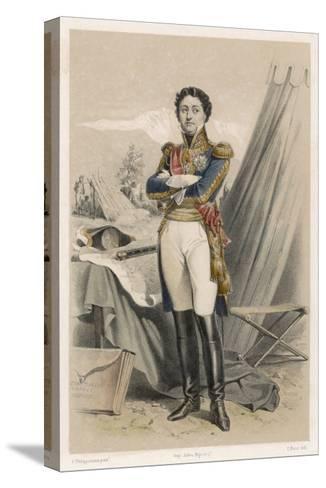 Nicolas-Jean de Dieu Soult Duc de Dalmatie French Soldier and Statesman-F. Philippoteaux-Stretched Canvas Print