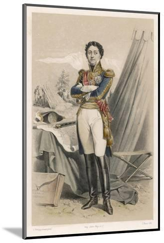 Nicolas-Jean de Dieu Soult Duc de Dalmatie French Soldier and Statesman-F. Philippoteaux-Mounted Giclee Print