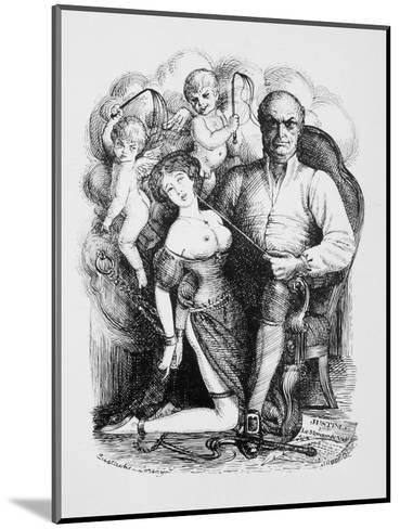 Donatien-Alphonse-Francois Marquis de Sade French Philosopher and Author-Eustache L'orsay-Mounted Giclee Print