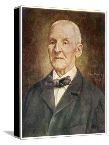 Anton Bruckner Austrian Musician-Ludwig Nauer-Stretched Canvas Print