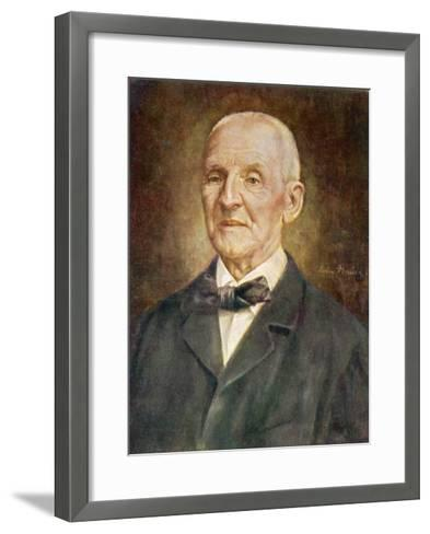 Anton Bruckner Austrian Musician-Ludwig Nauer-Framed Art Print