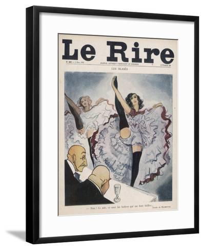 I'm More Excited by a Plate of Oysters Than by a Girl's Thighs- Marmottin-Framed Art Print