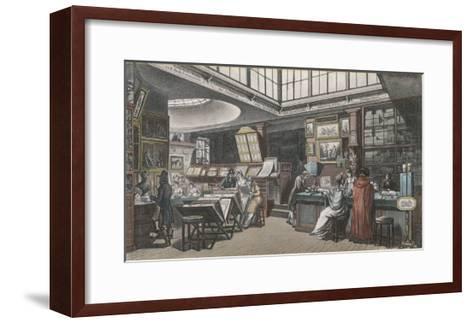 Ackermann's Repository of Arts 101 the Strand- Rowlandson & Pugin-Framed Art Print