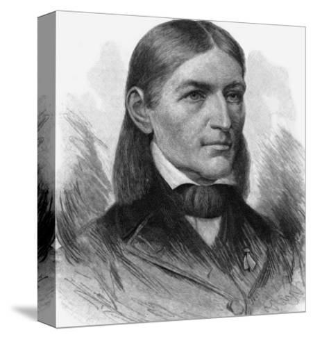 Friedrich Wilhelm August Froebel German Educator-T^ Johnson-Stretched Canvas Print