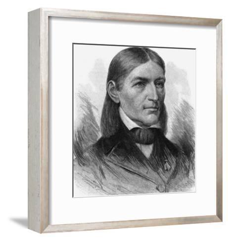 Friedrich Wilhelm August Froebel German Educator-T^ Johnson-Framed Art Print