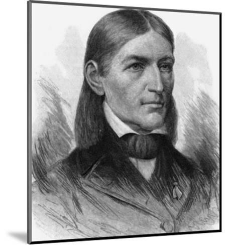 Friedrich Wilhelm August Froebel German Educator-T^ Johnson-Mounted Giclee Print
