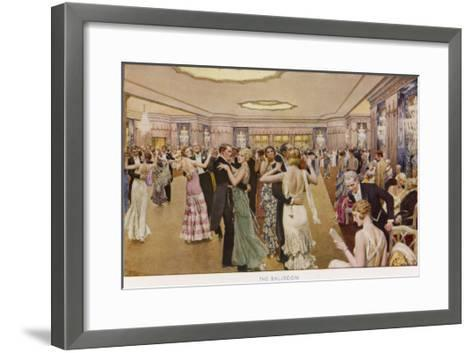 The Dorchester the Ballroom-Fortunio Matania-Framed Art Print