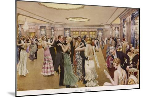 The Dorchester the Ballroom-Fortunio Matania-Mounted Giclee Print