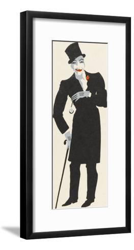 Ella Shields Music Hall Entertainer: Burlington Bertie from Bow-Elizabeth Pyke-Framed Art Print