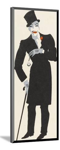 Ella Shields Music Hall Entertainer: Burlington Bertie from Bow-Elizabeth Pyke-Mounted Giclee Print