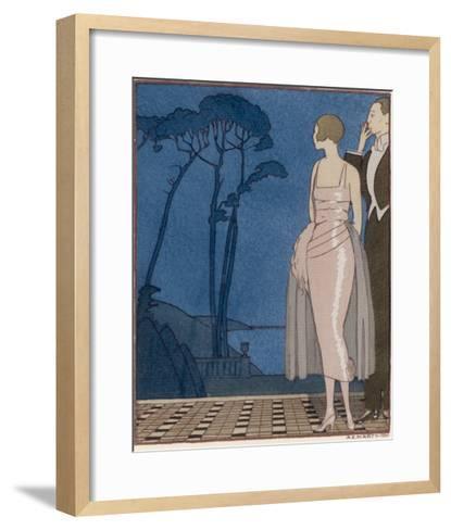 Worth Dress-A.e. Marty-Framed Art Print