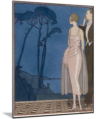 Worth Dress-A.e. Marty-Mounted Giclee Print