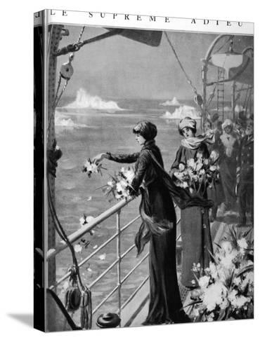 Mrs Henrietta Loring- Rousseau-decelle-Stretched Canvas Print