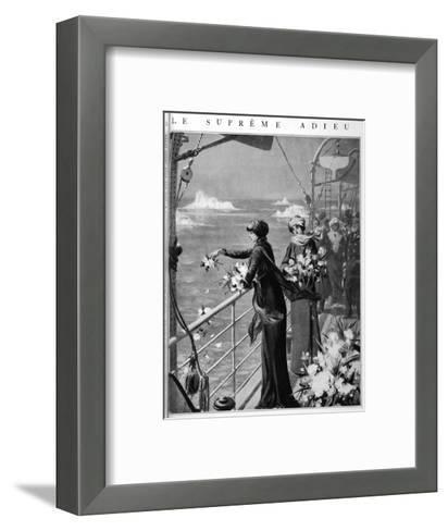 Mrs Henrietta Loring- Rousseau-decelle-Framed Art Print