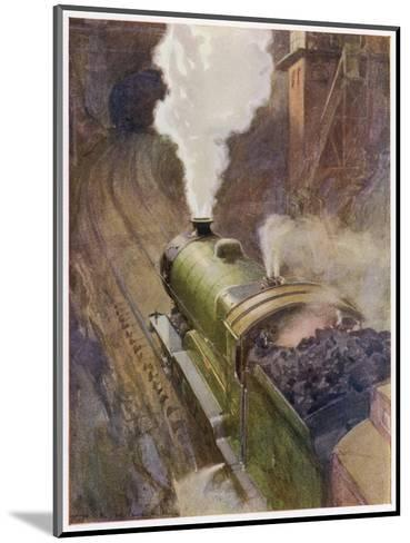 Great Central Express-H.r. Millar-Mounted Giclee Print
