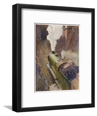 Great Central Express-H.r. Millar-Framed Art Print