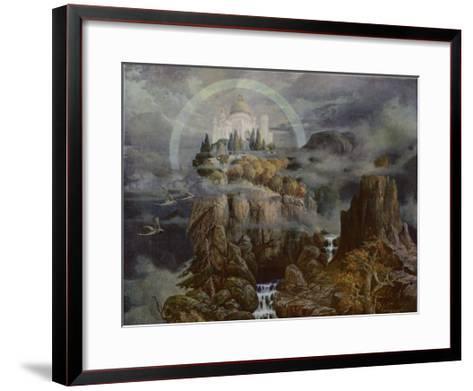 Die Gralsburg, The Castle of the Grail-Hans Rudolf-Framed Art Print