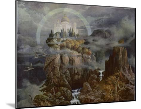 Die Gralsburg, The Castle of the Grail-Hans Rudolf-Mounted Giclee Print