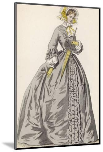 1882 Depiction of 1840s Fashions-F. Lix-Mounted Giclee Print