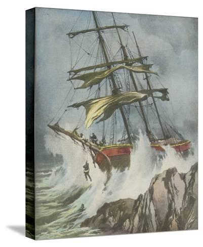 Francesco Paolo Wrecked-Aldo Molinari-Stretched Canvas Print