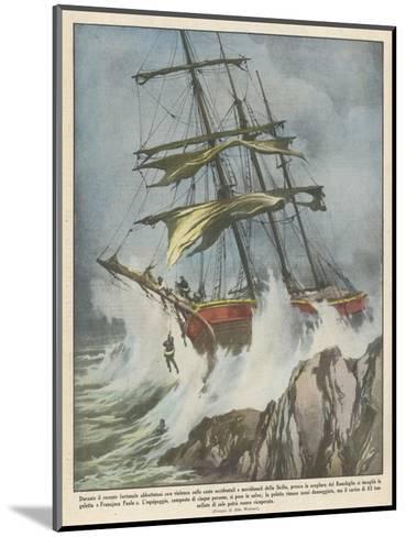 Francesco Paolo Wrecked-Aldo Molinari-Mounted Giclee Print