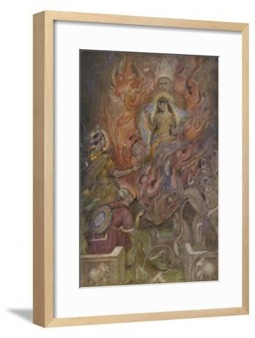The Triumph of Sita Beloved Wife of Rama after a Succession of Adventures-Evelyn Paul-Framed Art Print