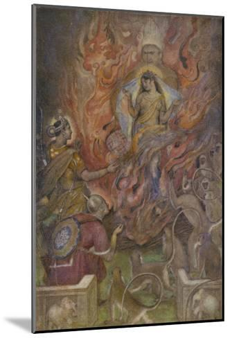 The Triumph of Sita Beloved Wife of Rama after a Succession of Adventures-Evelyn Paul-Mounted Giclee Print