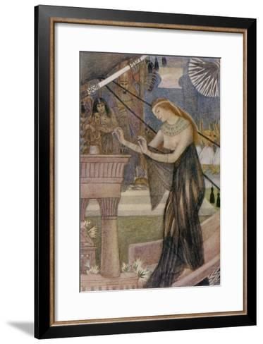 Isis Departs from Byblos-Evelyn Paul-Framed Art Print
