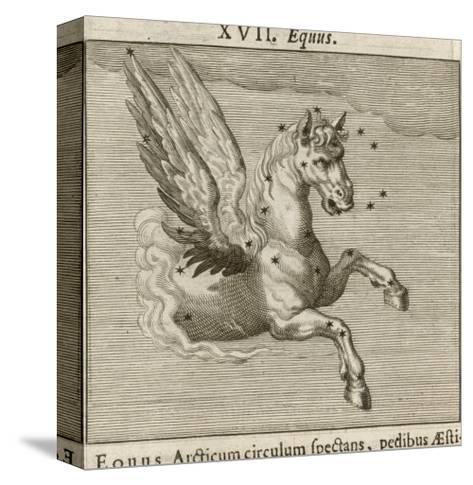 Equus the Horse-Gaius Julius Hyginus-Stretched Canvas Print