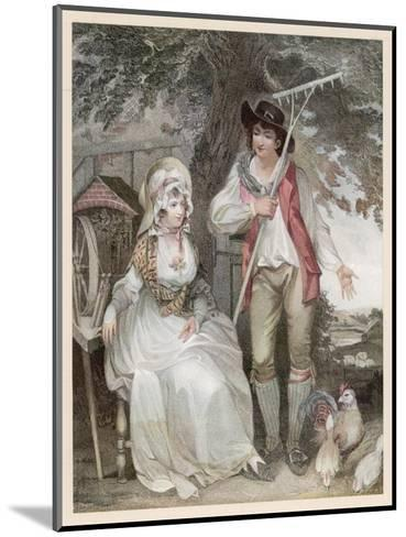 Relatively Prosperous Farming Couple-W. Nutter-Mounted Giclee Print